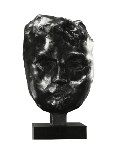 MASK OF IRIS Bronze, 4.5x2.75x2.25 in. Modeled 1891, cast 1964,  #6 of an unknown edition size,  Georges Rudier Foundry  Iris & B. Gerald Cantor Foundation