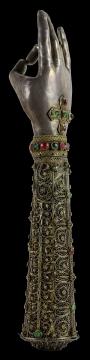 Arm Reliquary of St Sahak Partev